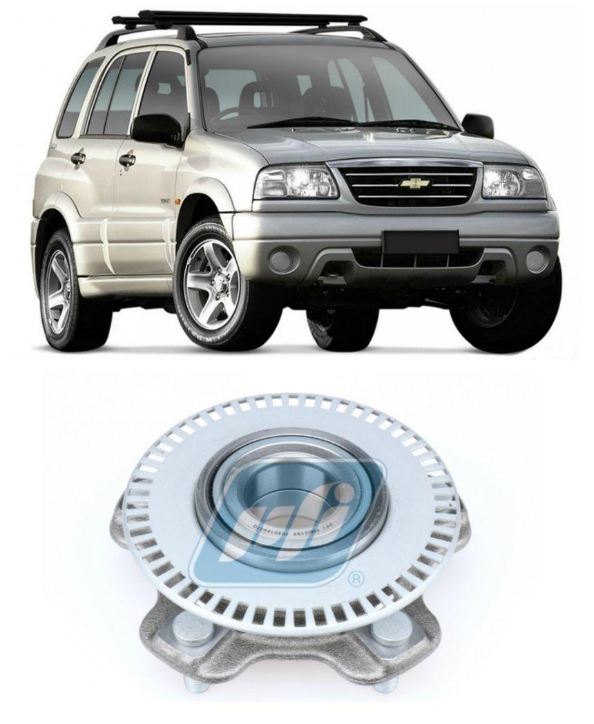 Cubo de Roda Dianteira CHEVROLET Tracker 2001-2009, ABS