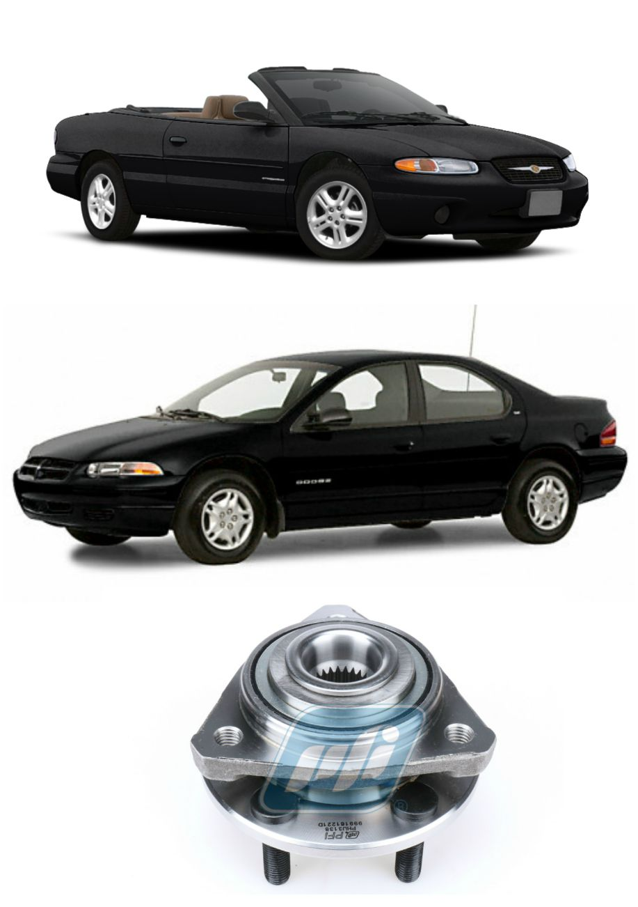 Cubo de Roda Dianteira CHRYSLER Sebring e Stratus 1996 até 2006
