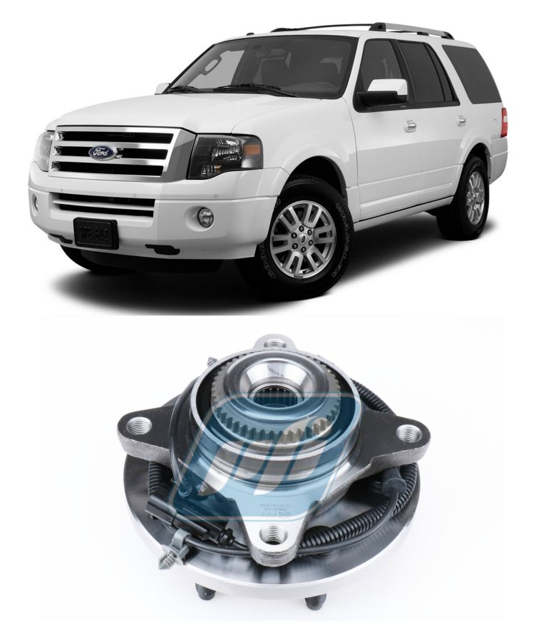 Cubo de Roda Dianteira FORD Expedition 2011-2014, 4x4, com ABS