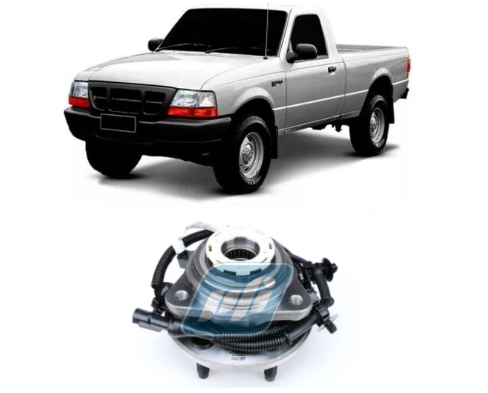 Cubo de Roda Dianteira FORD Ranger 1998-2000, 4x4, com ABS