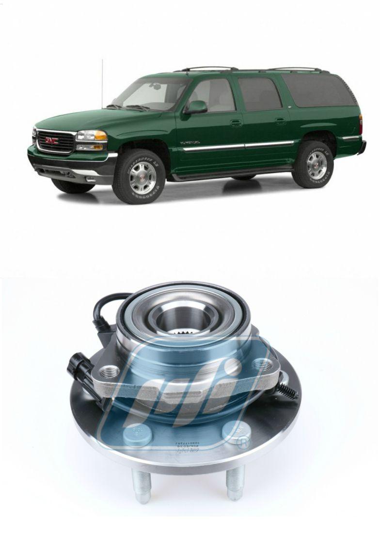 Cubo de Roda Dianteira GMC Yukon 1999 até 2007, 4x4, com ABS