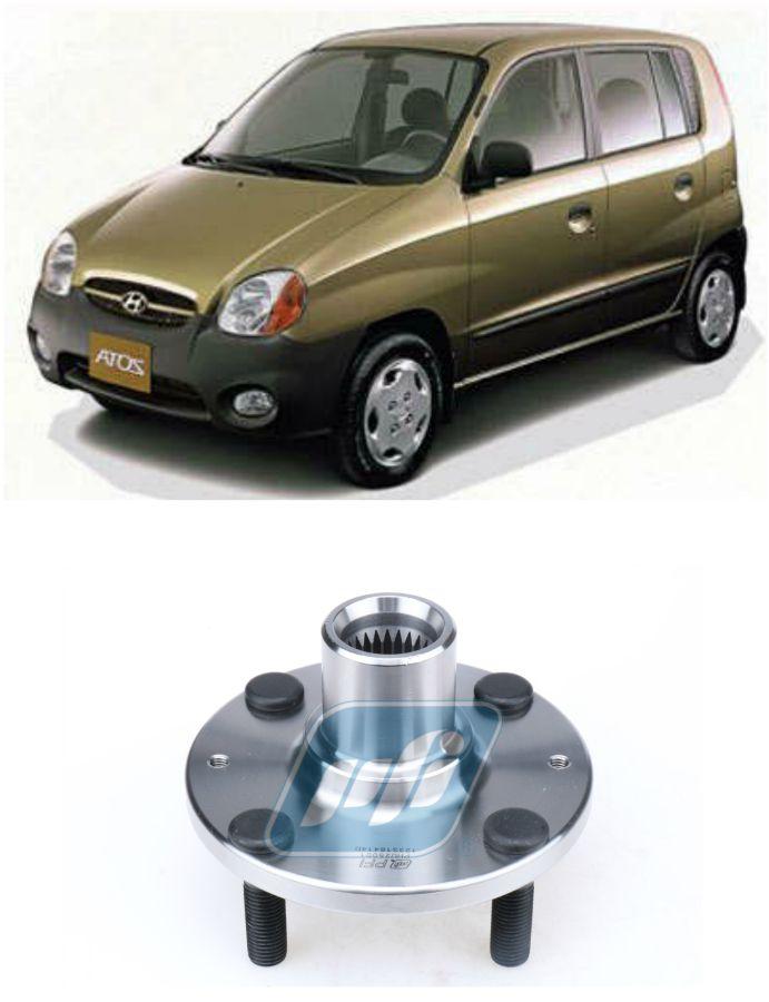 Cubo de Roda Dianteira HYUNDAI Atos Prime 2001-2007