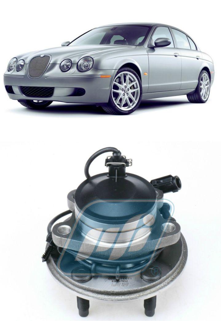 Cubo de Roda Dianteira  Jaguar S-Type 1999-2008, com ABS