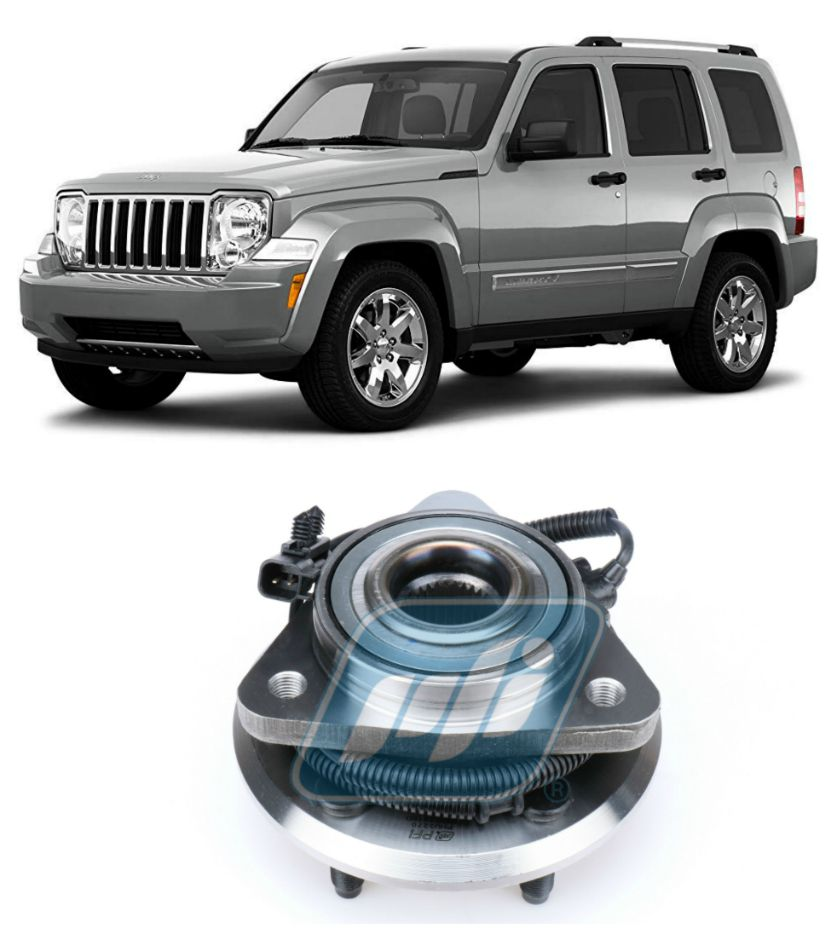 Cubo de Roda Dianteira JEEP Cherokee Sport 2008-2012, com ABS