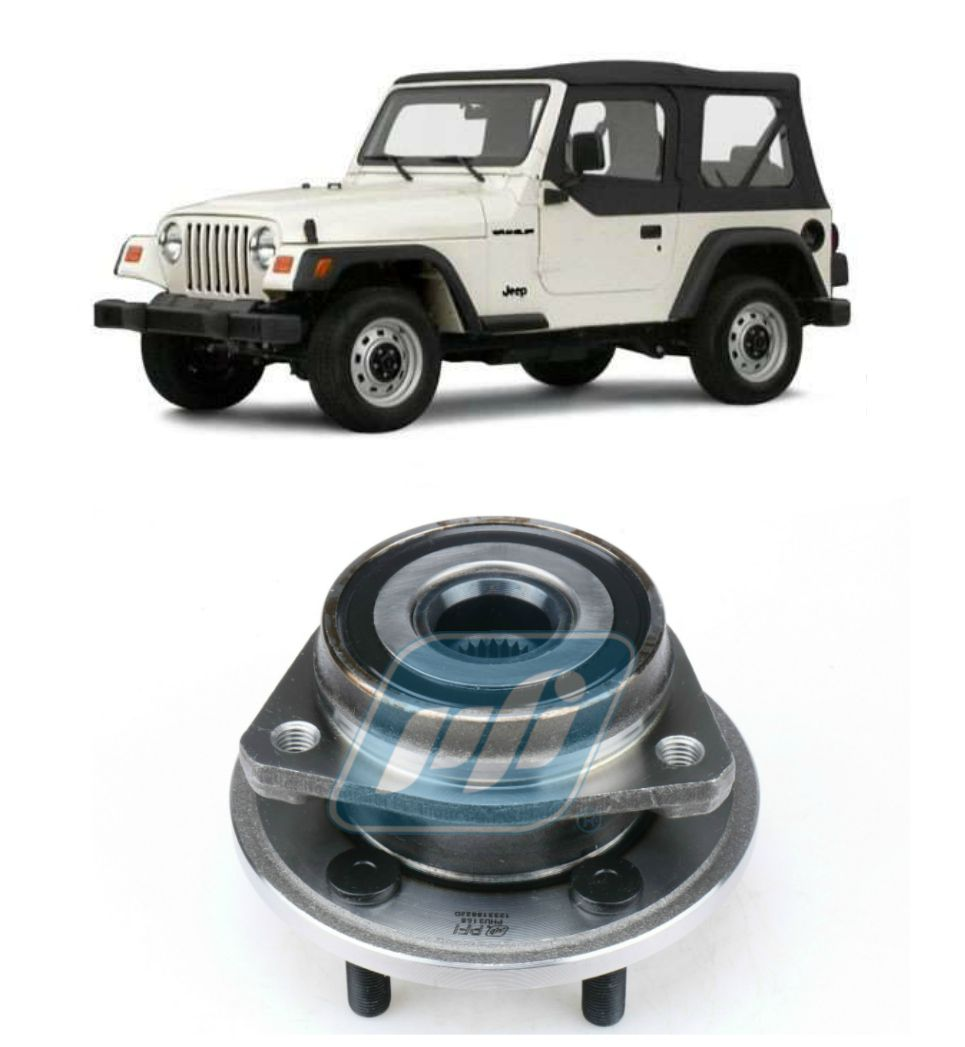 Cubo de Roda Dianteira JEEP Wrangler 1999 até 2006 sem ABS