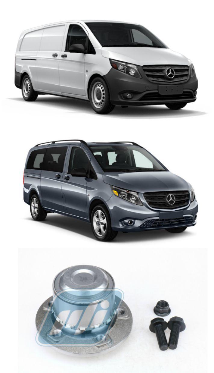 Cubo de Roda Dianteira Mercedes Benz VITO 2015 até 2018