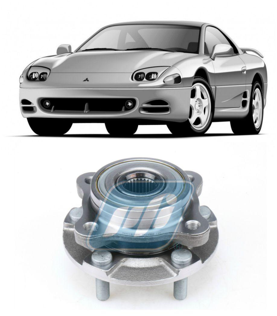 Cubo de Roda Dianteira Mitsubishi 3000GT VR4 1991-1998, AWD