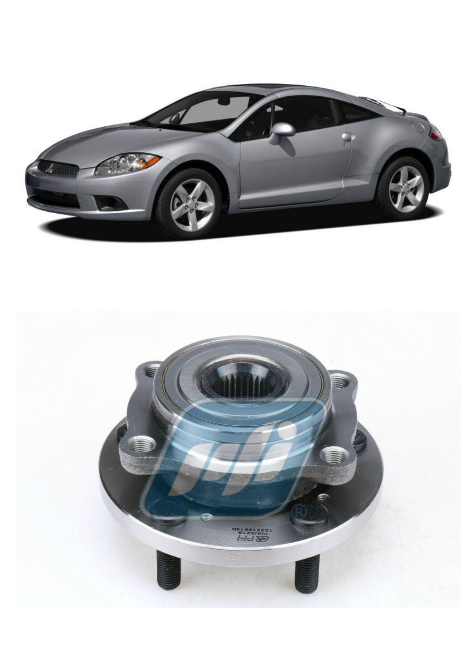 Cubo de Roda Dianteira MITSUBISHI Eclipse 2006-2012, com ABS