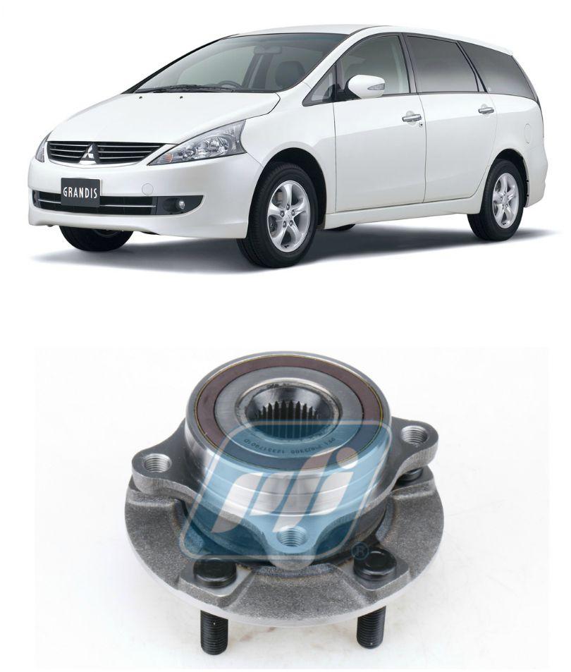 Cubo de Roda Dianteira Mitsubishi Grandis 2003 até 2011, com ABS