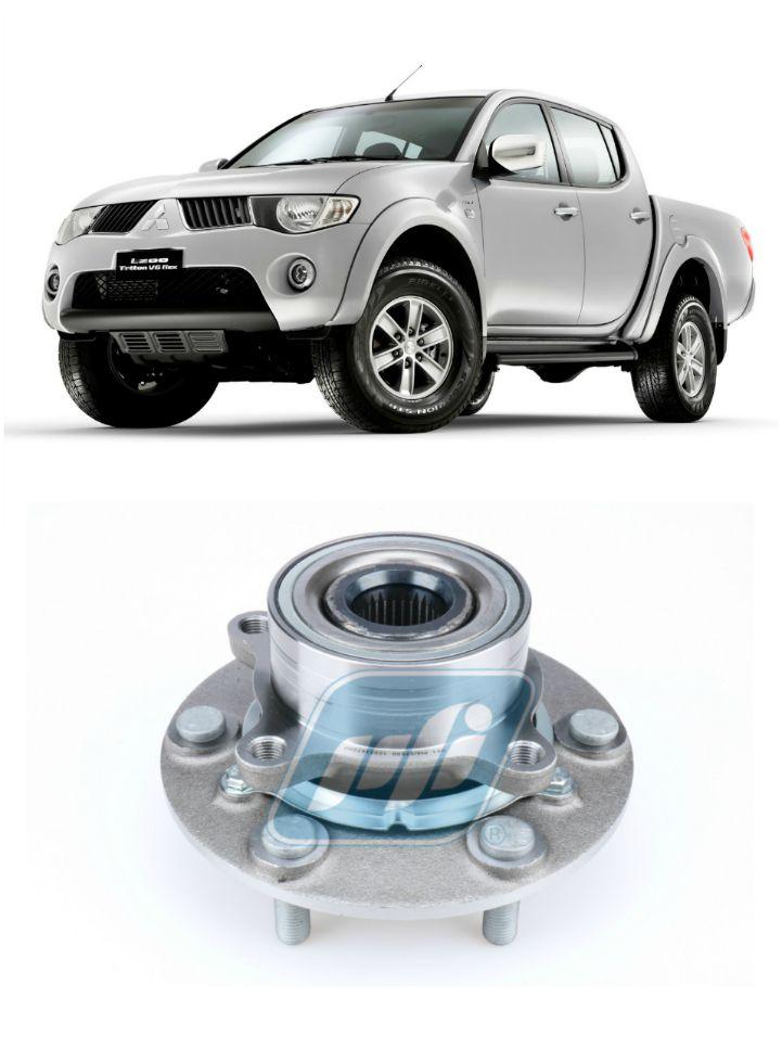 Cubo de roda Dianteira MITSUBISHI L200 Triton 2007-2018