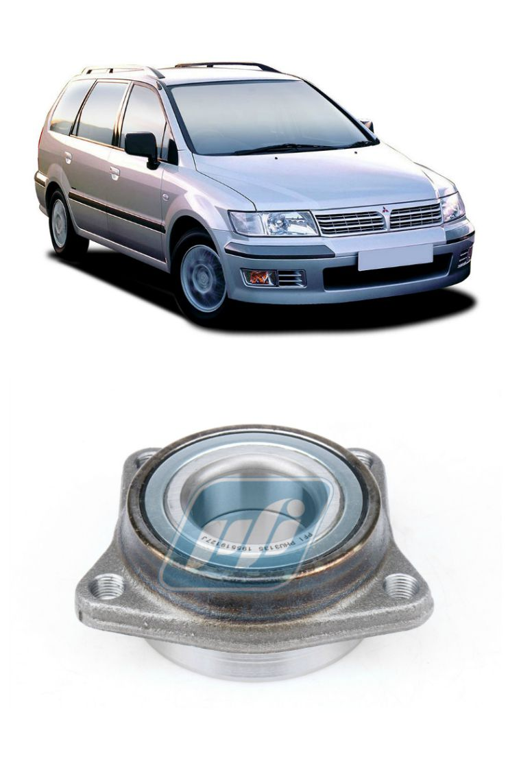 Cubo de Roda Dianteira MITSUBISHISpace Wagon 1998 até 2004