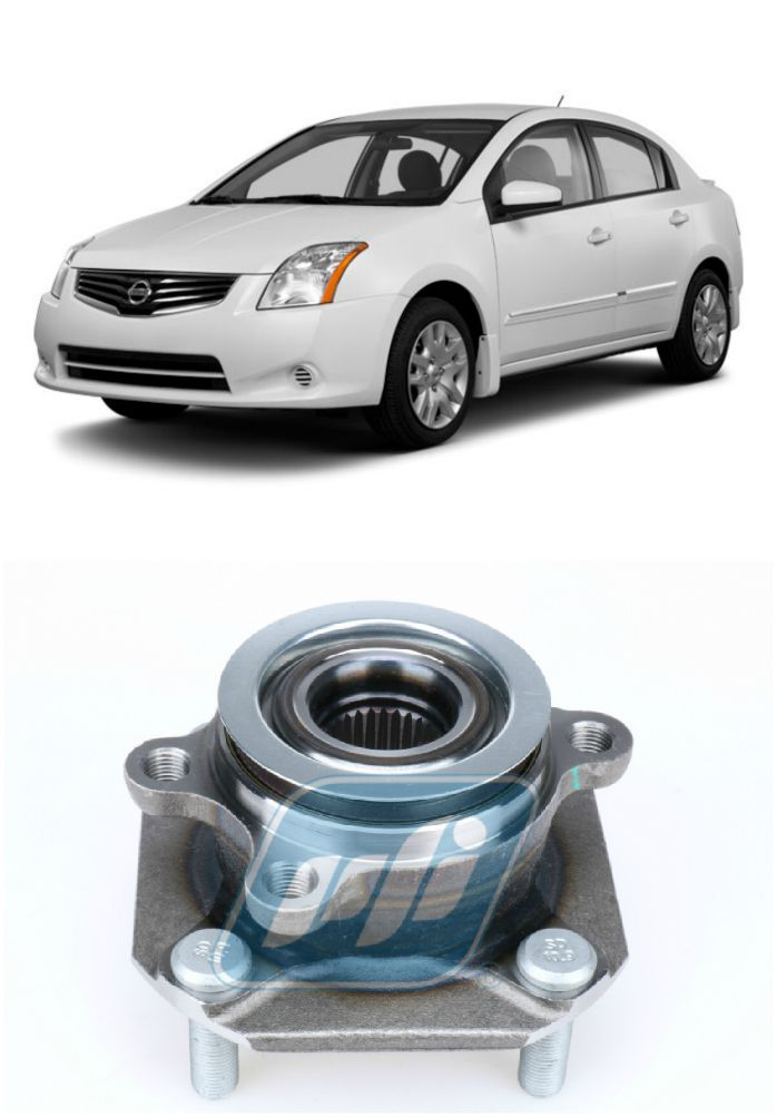 Cubo de Roda Dianteira NISSAN Sentra 2007 até 2013, com ABS