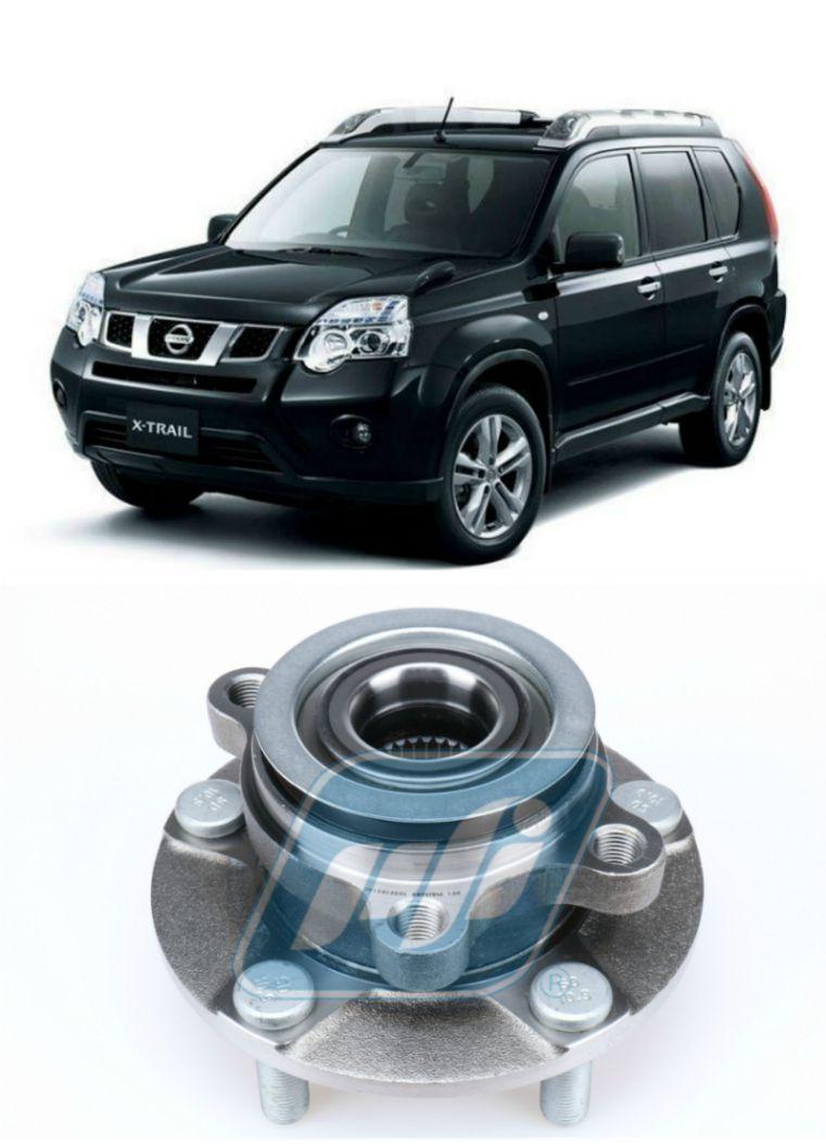 Cubo de Roda Dianteira NISSAN X-Trail 2009-2013, com ABS