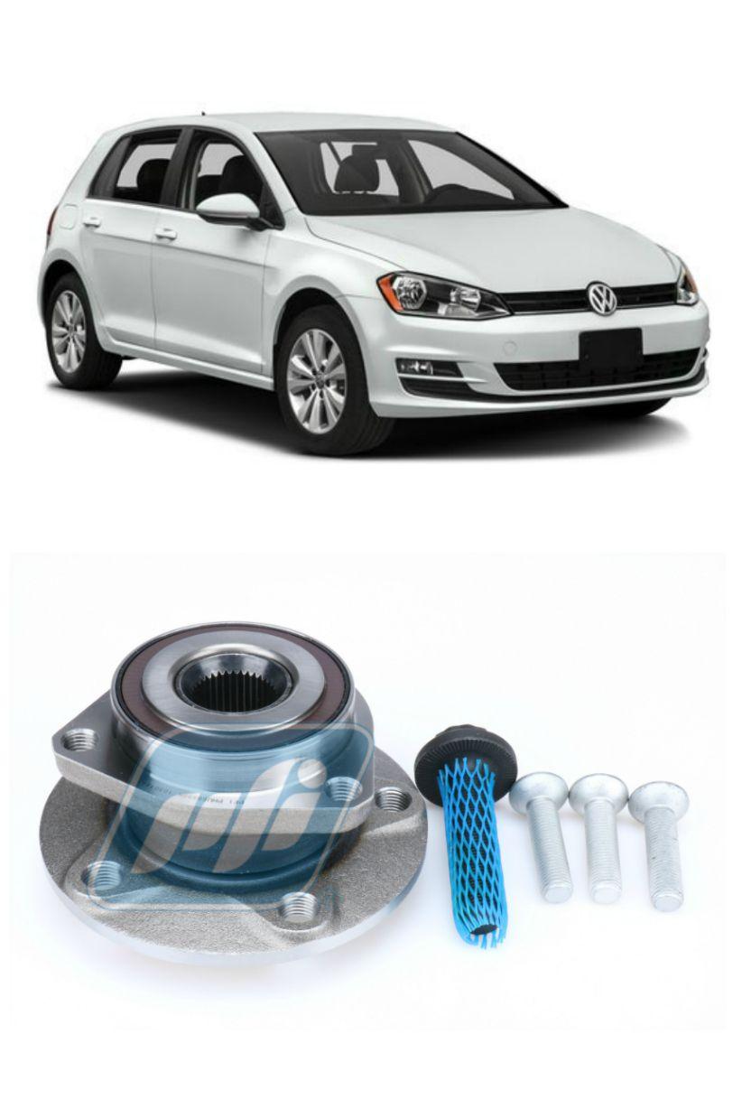 Cubo de Roda Dianteira VW Golf 2014 até 2018, ABS (disco de freio de 288mm)