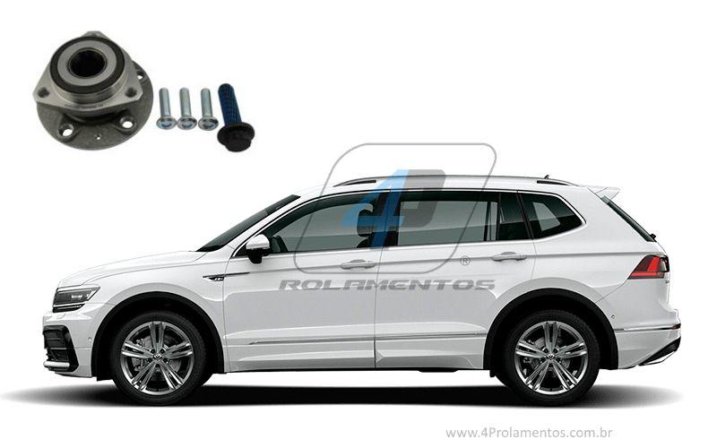 Cubo de Roda Dianteira VW Tiguan Allspace 2017-2020