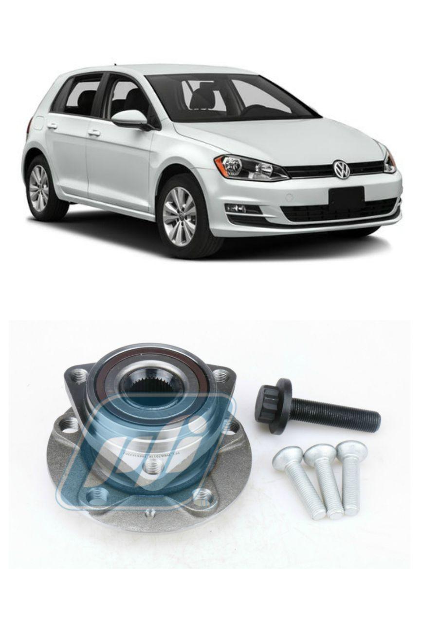 Cubo de Roda Dianteira VW Golf VII 2013-2017 p/ veículos com disco de freio de 312mm