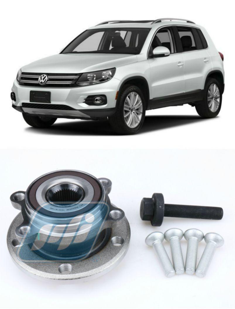 Cubo de Roda dianteira VW Tiguan 2007 até 2018, ABS