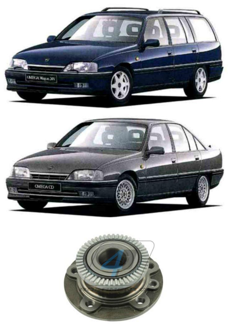 Cubo de Roda Dianteiro Chevrolet Omega 1992-1998