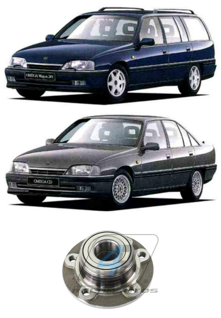 Cubo de Roda Dianteiro Chevrolet Omega 1992 até 1998, sem ABS
