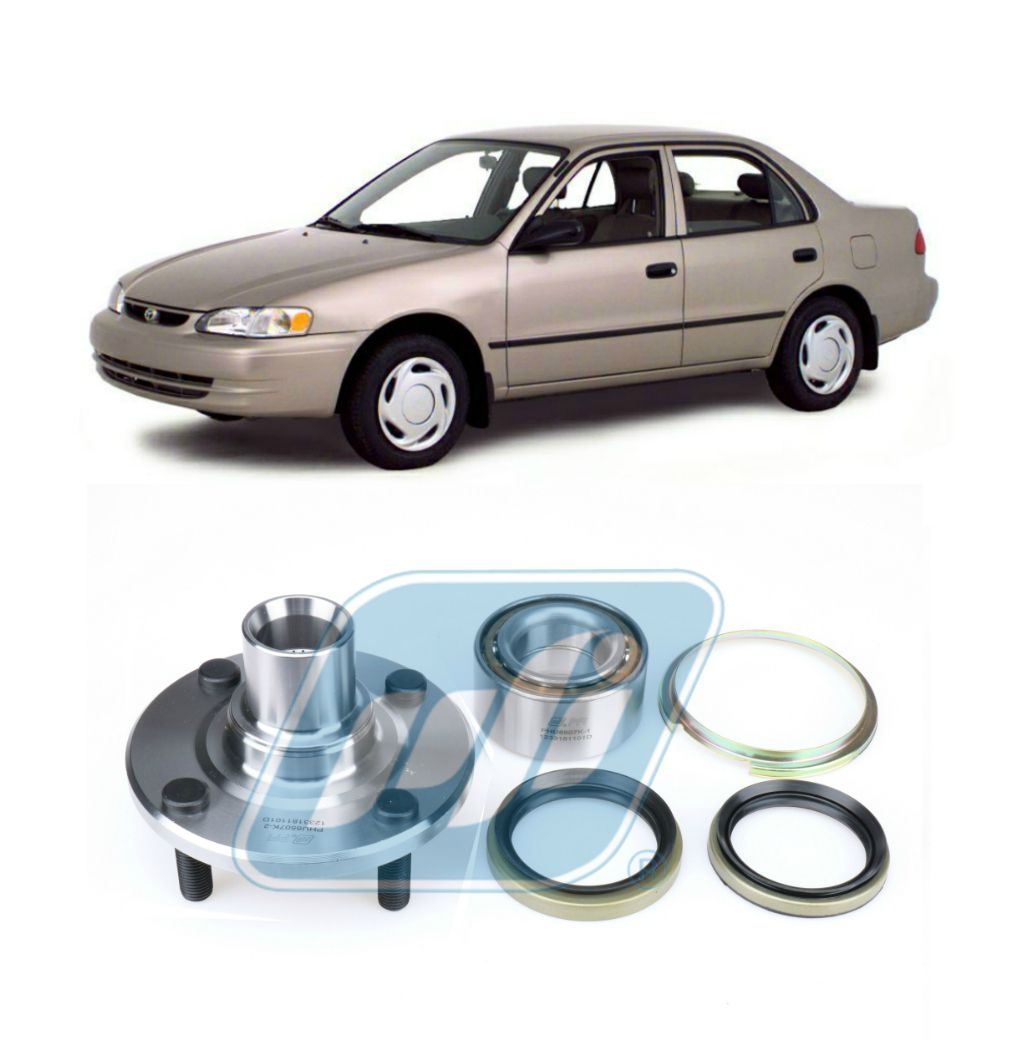 Cubo de Roda e Rolamento Dianteiro TOYOTA Corolla 1993-2002