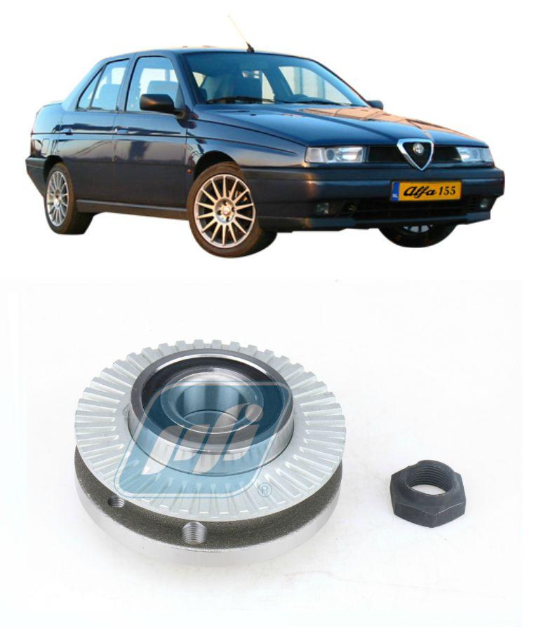 Cubo de Roda Traseira ALFA ROMEO 155 1994-1997 com ABS