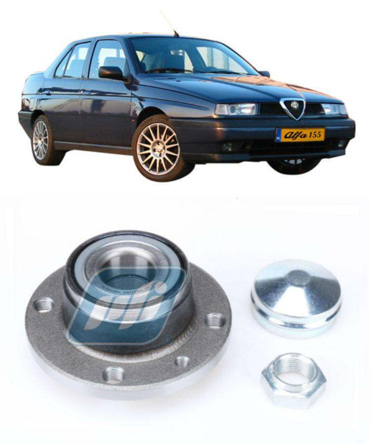 Cubo de Roda Traseira ALFA ROMEO 155 1994-1997 sem ABS