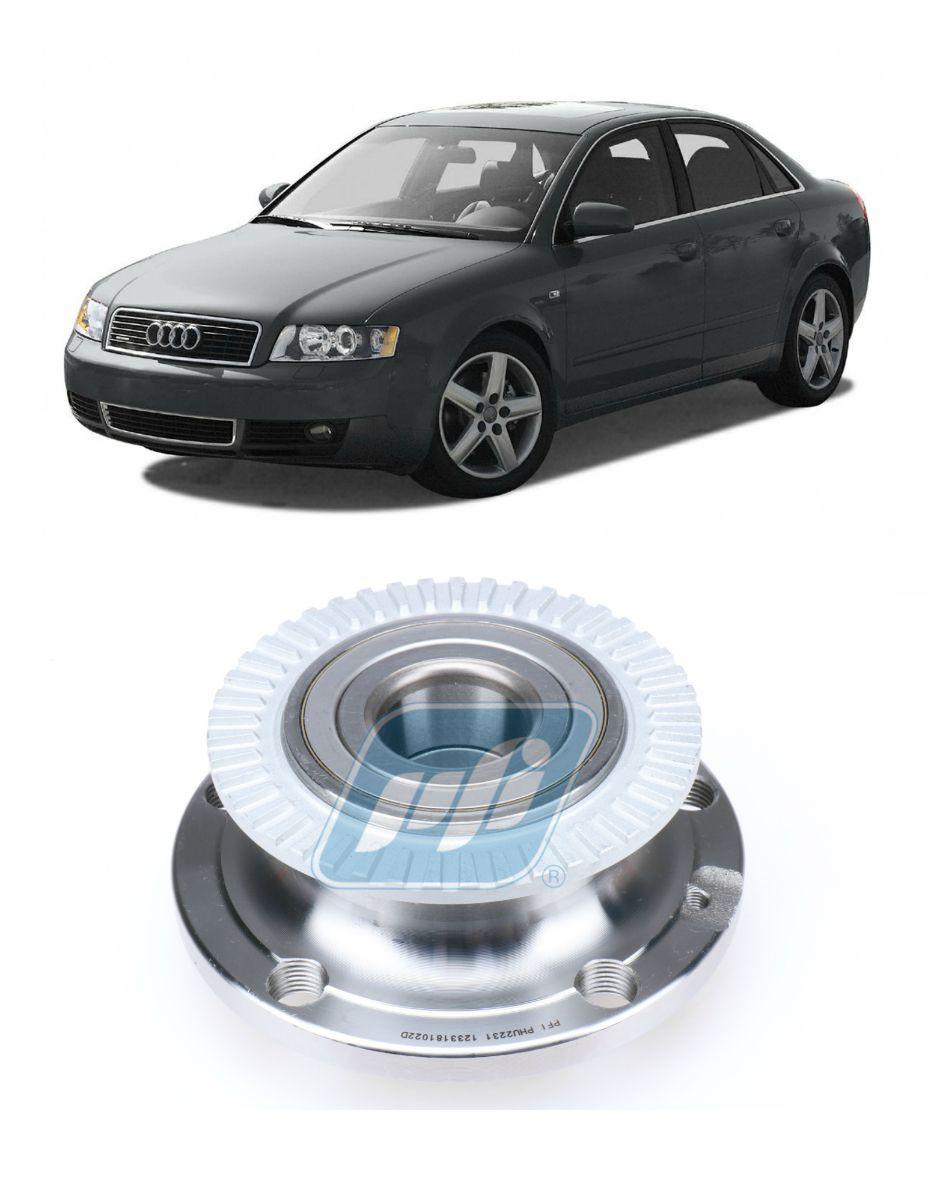 Cubo de Roda Traseira AUDI A4 2000 até 2008 FWD com ABS