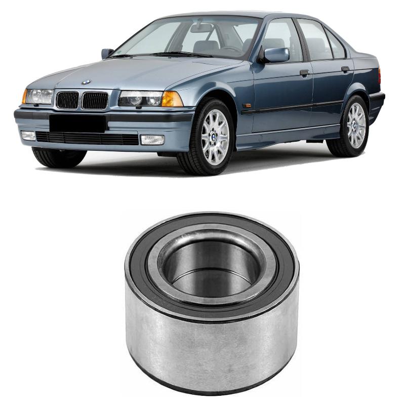 Cubo de Roda Traseira BMW 330i de 1990 até 1997, com ABS