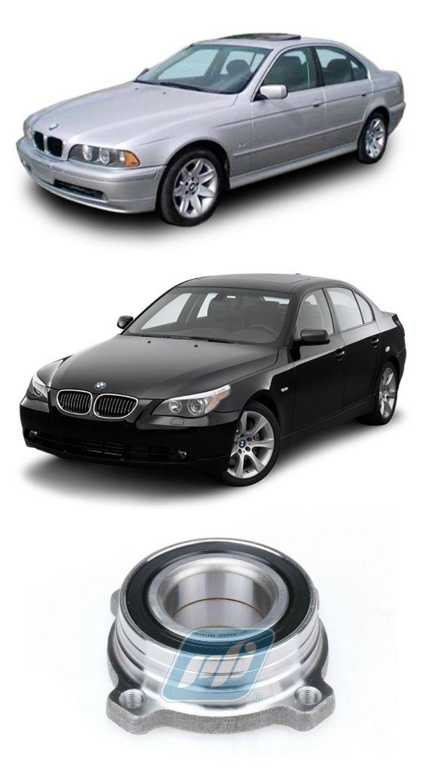 Cubo de Roda traseira BMW 540i de 1996 até 2010, com ABS