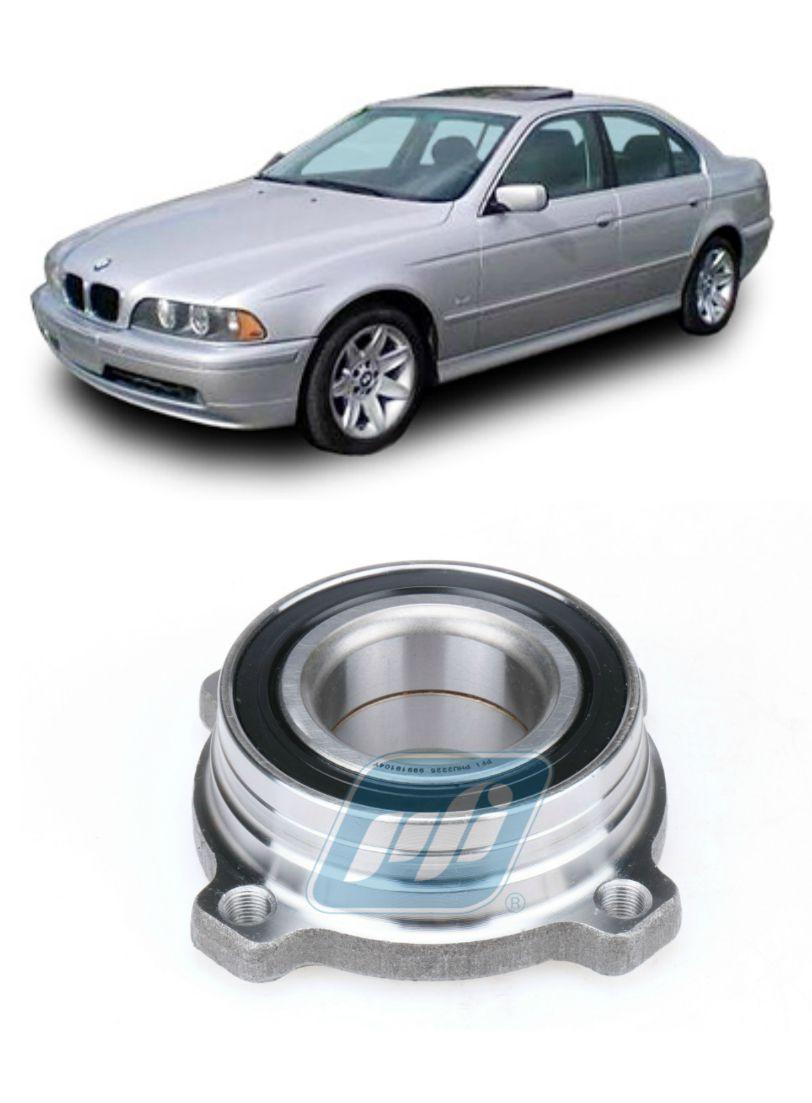 Cubo de Roda Traseira BMW 5 E39 de 1996 até 2004, com ABS