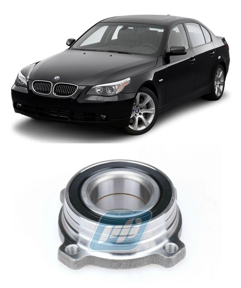 Cubo de Roda Traseira BMW 5 E60, 2005 até 2010, com ABS