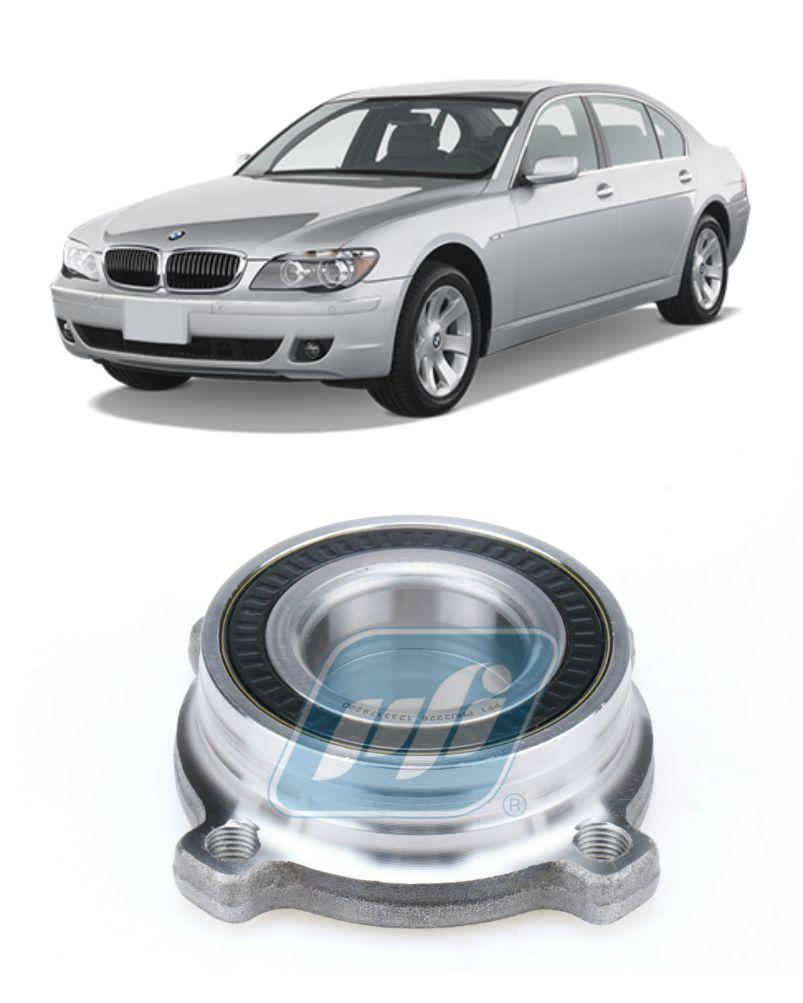 Cubo de Roda Traseira BMW 740 2001-2009 com ABS