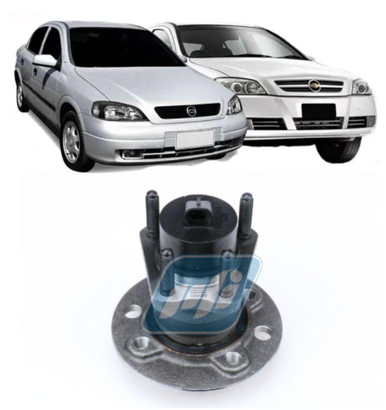 Cubo de Roda Traseira CHEVROLET Astra, 1999-2009, com ABS, 4 Furos