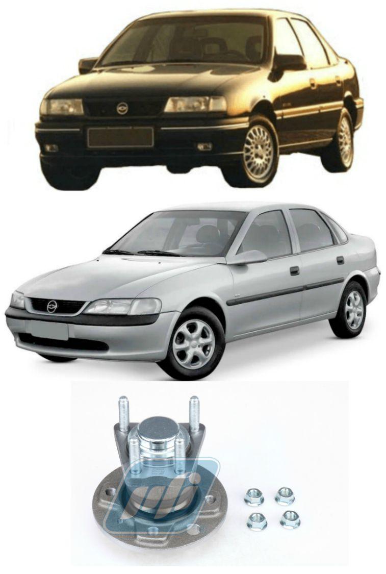 Cubo de Roda Traseira CHEVROLET Vectra 1993-2005 sem ABS, 4 Furos