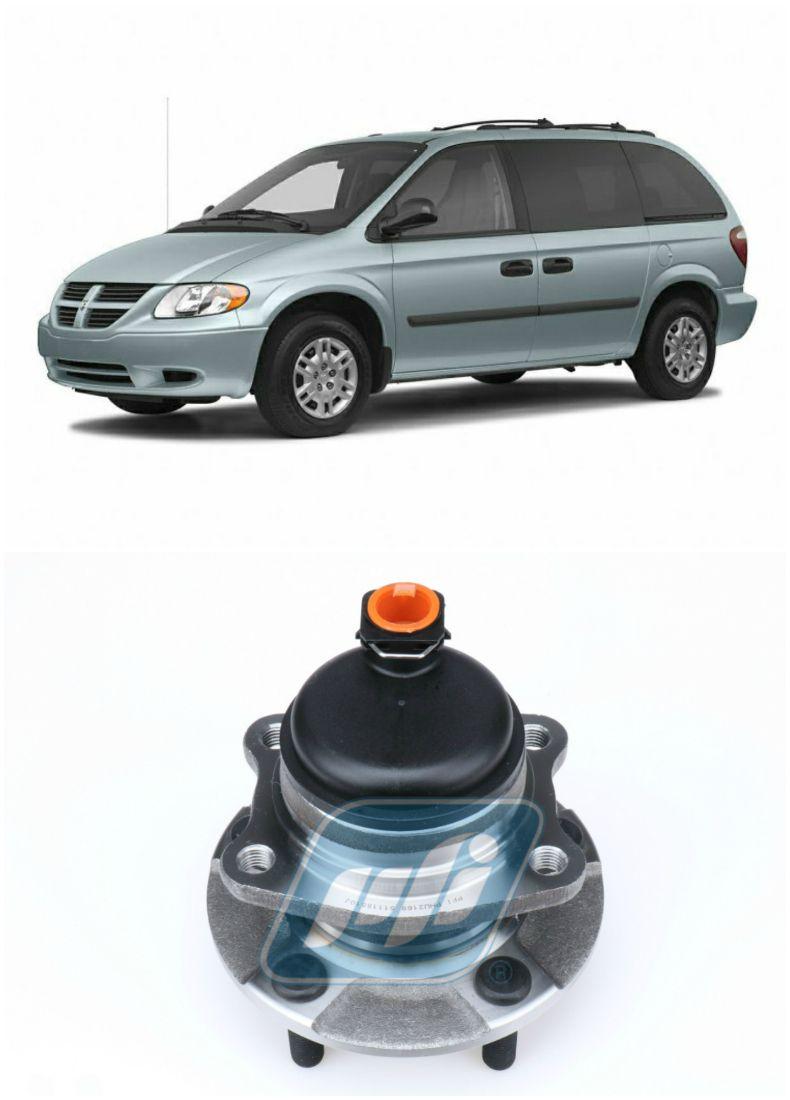 Cubo de Roda Traseira CHRYSLER Caravan e Grand Caravan 2001-2007, FWD, ABS