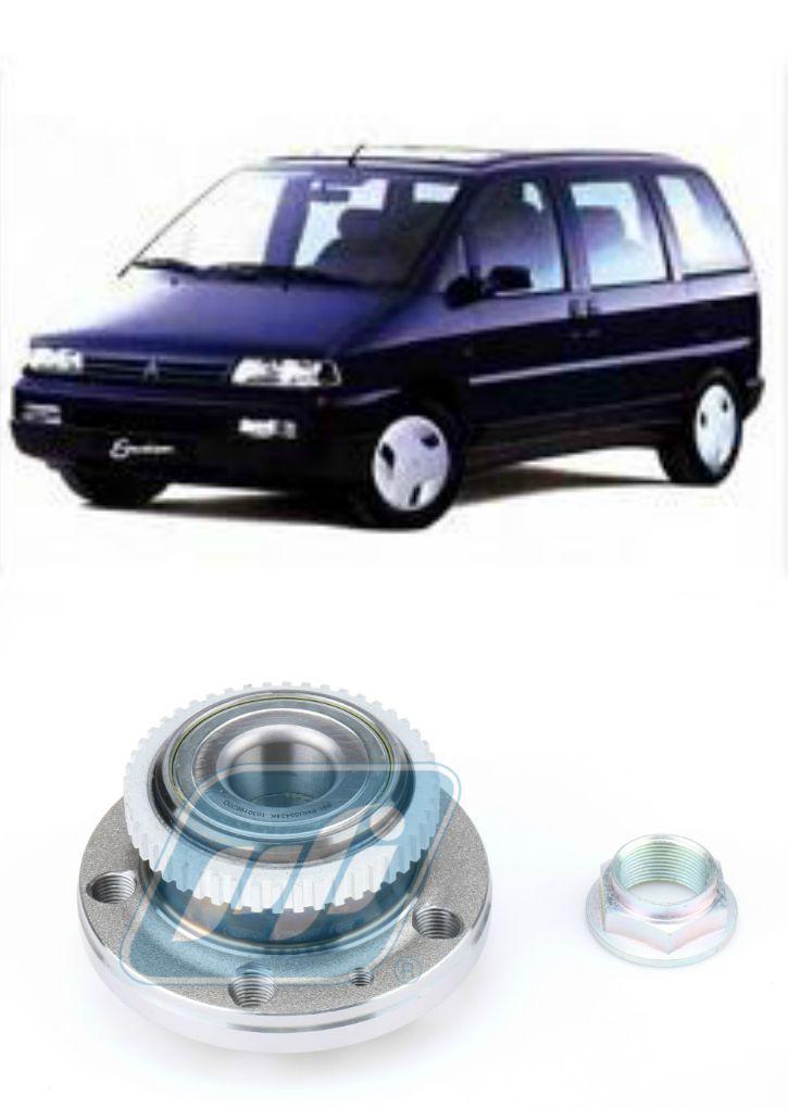 Cubo de Roda Traseira Citroen Evasion de 1994 até 2002