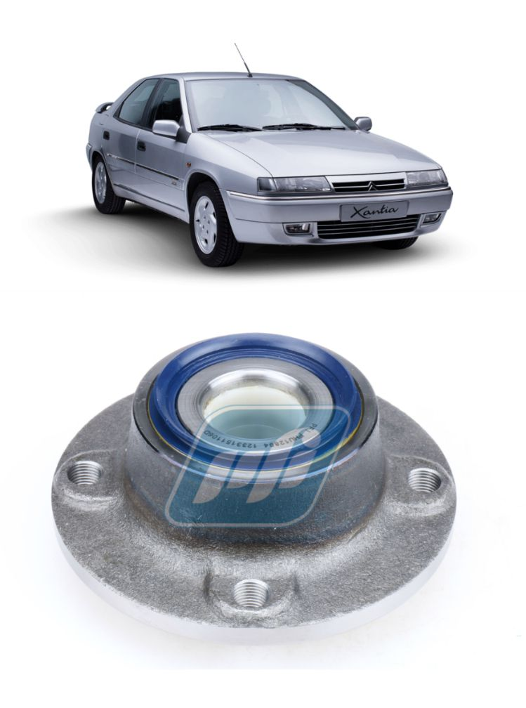 Cubo de Roda Traseira CITROEN  Xantia 1993-1995, sem ABS