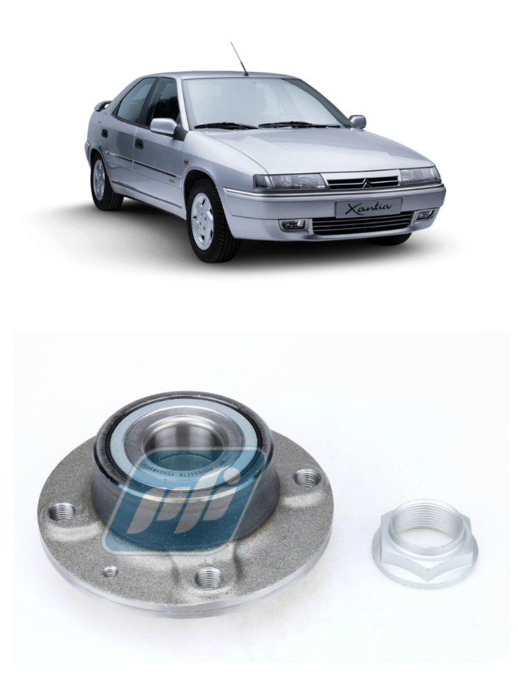 Cubo de Roda Traseira CITROEN Xantia 1995 até 2003 sem ABS