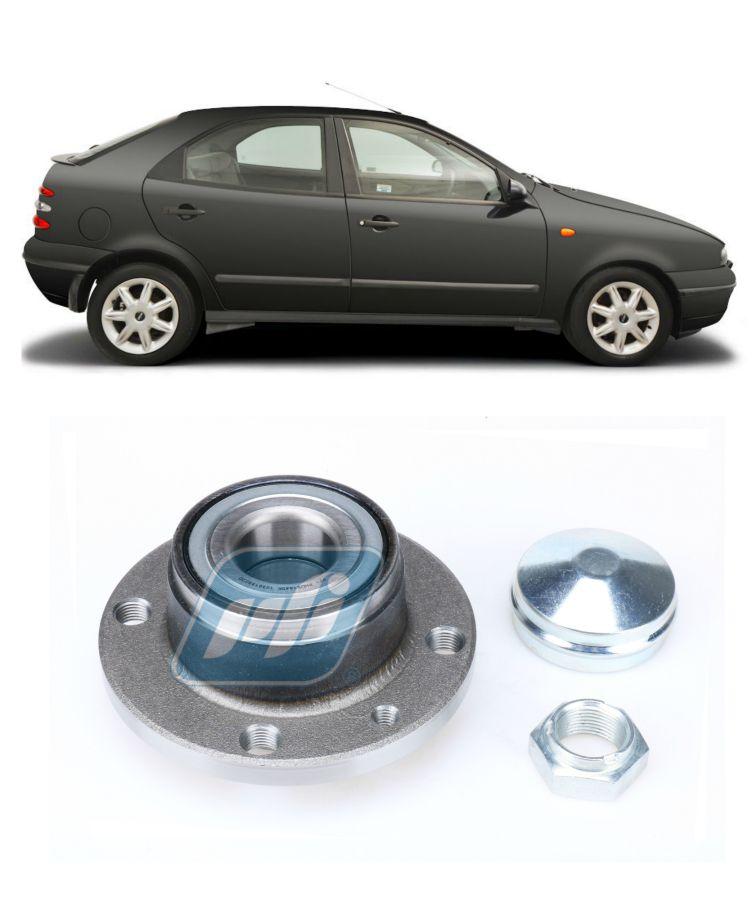 Cubo de Roda Traseira FIAT Brava 1999-2003, sem ABS