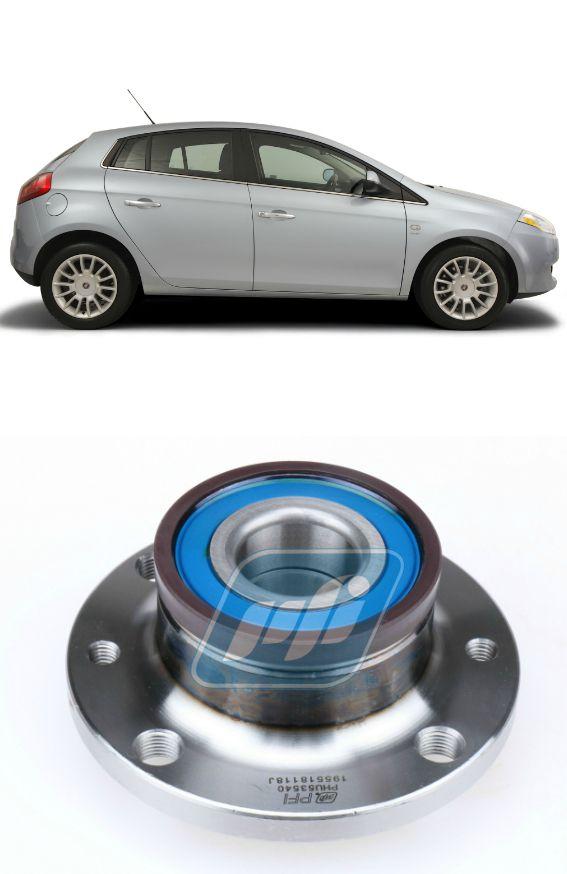 Cubo de Roda Traseira FIAT Bravo 2012-2016 com ABS