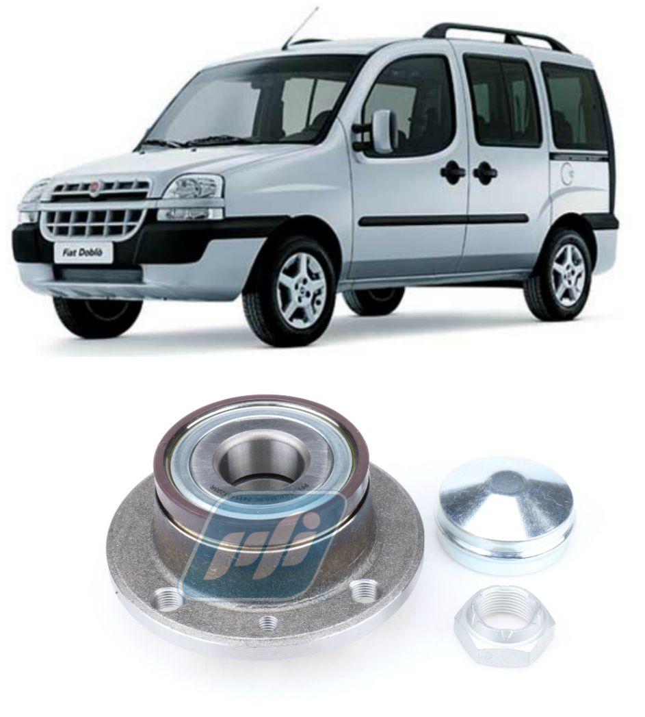Cubo de Roda Traseira FIAT Doblo 2001-2019,  com e  sem ABS.