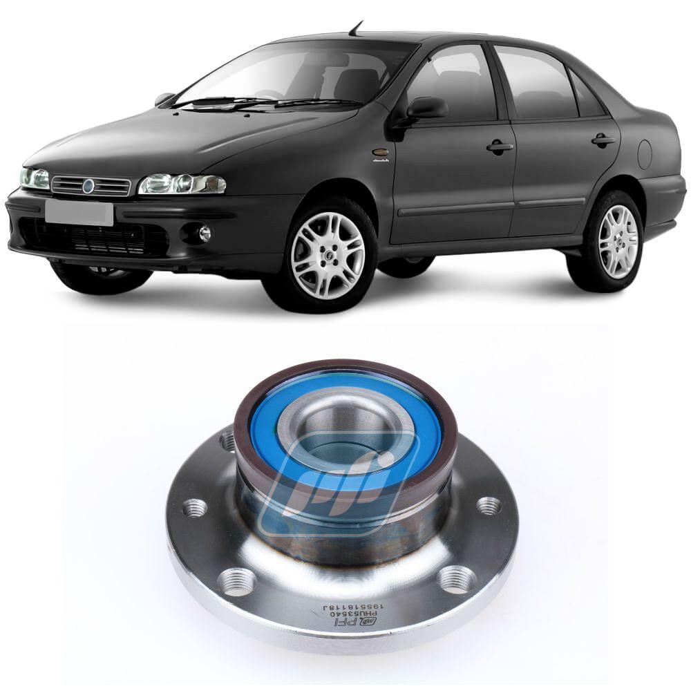 Cubo de Roda Traseira FIAT Marea 1998 até 2007 com ABS