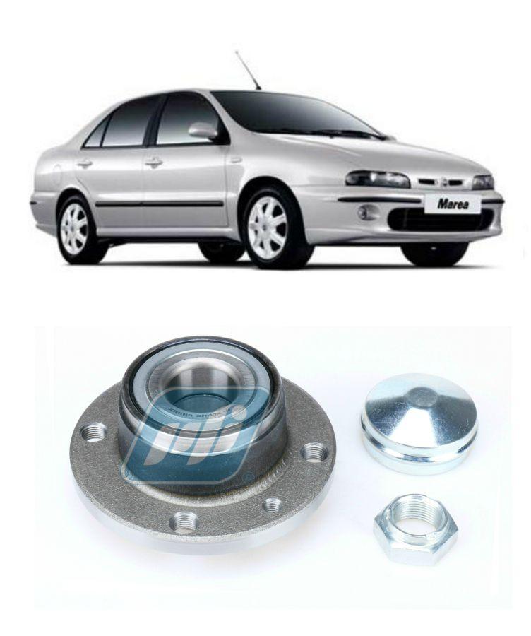 Cubo de Roda Traseira FIAT Marea 1999 até 2007, sem ABS