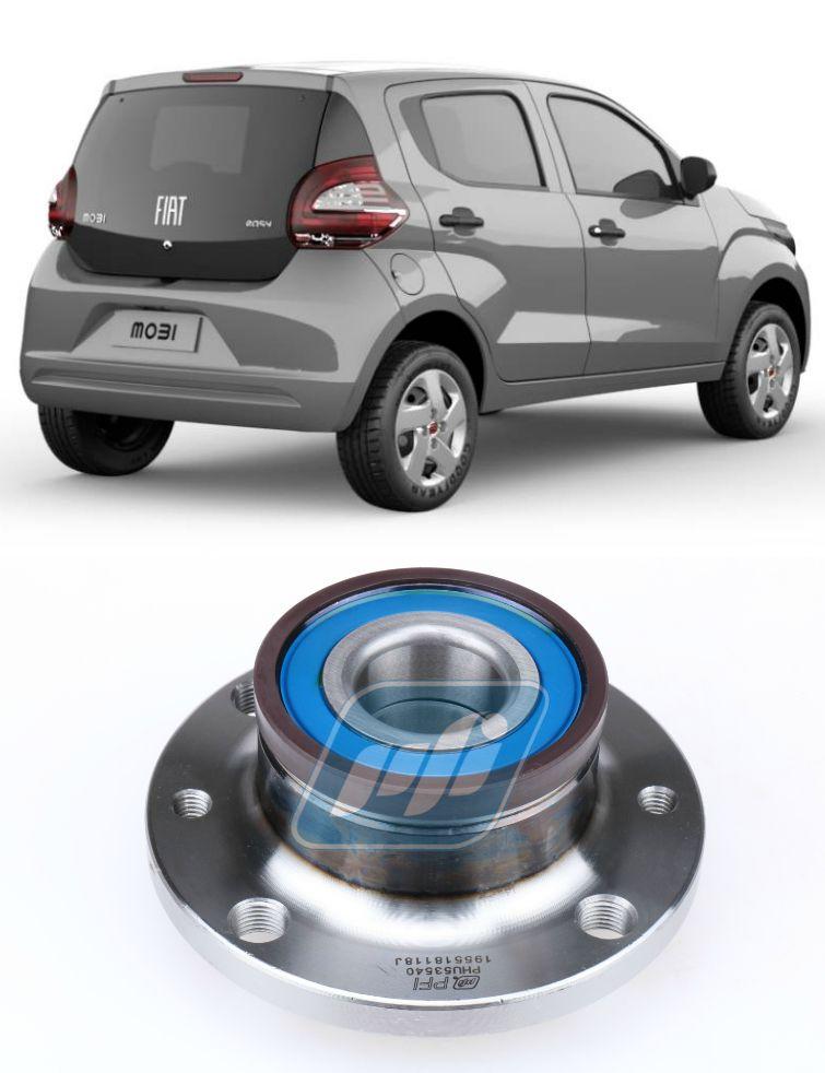 Cubo de Roda Traseira FIAT Mobi 2015-2020 com ABS