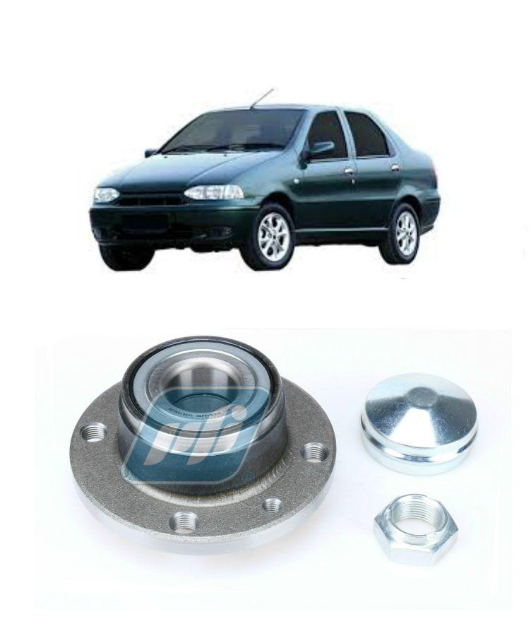 Cubo de Roda Traseira FIAT Siena 1996-2002, sem ABS