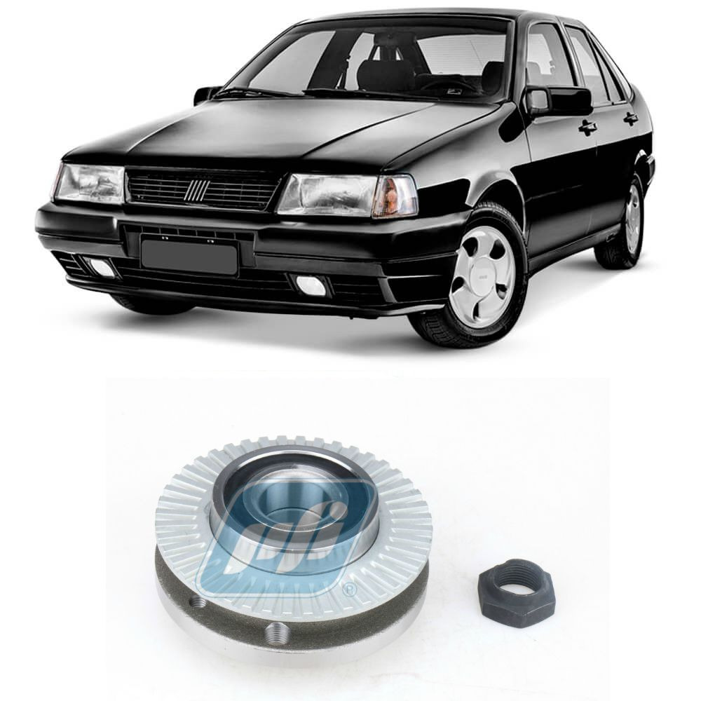 Cubo de Roda Traseira FIAT Tempra 1990 até 1996, com ABS