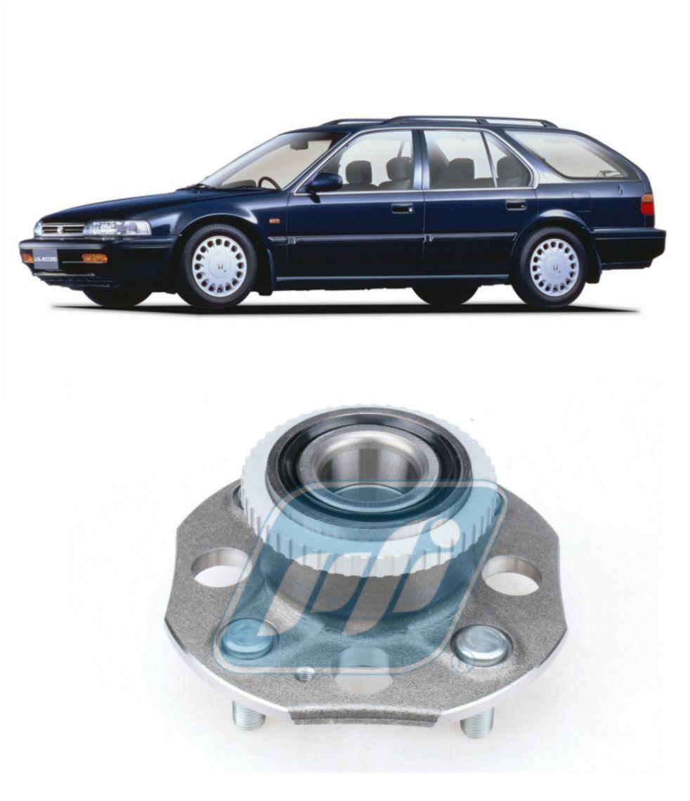 Cubo de Roda Traseira HONDA Accord SW 1991 até 1997, freio a disco, com ABS.