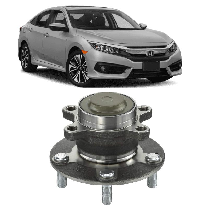 Cubo de Roda Traseira Honda Civic de 2017 até 2021