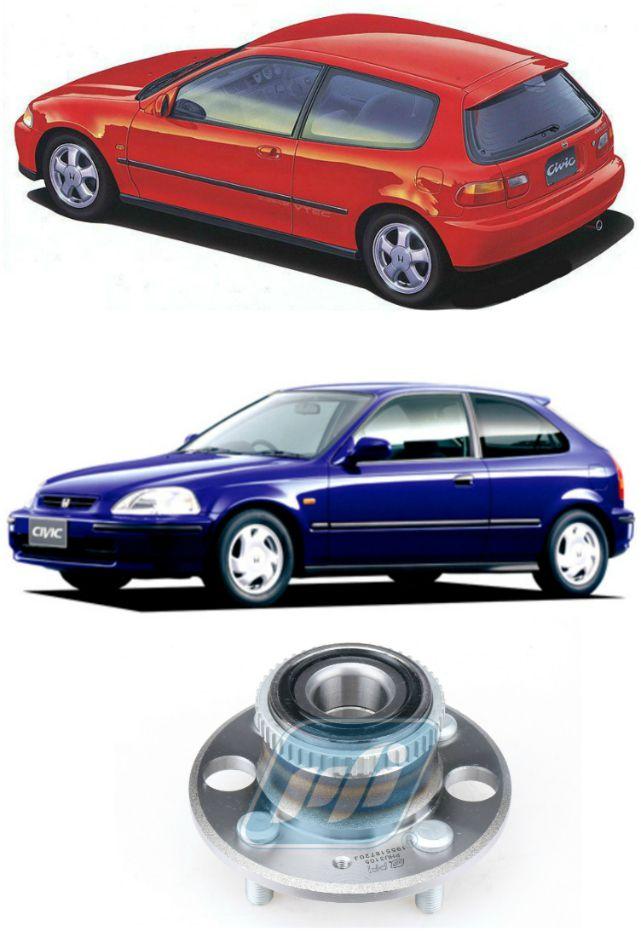 Cubo de Roda Traseira HONDA Civic  VTI 1991 até 1998