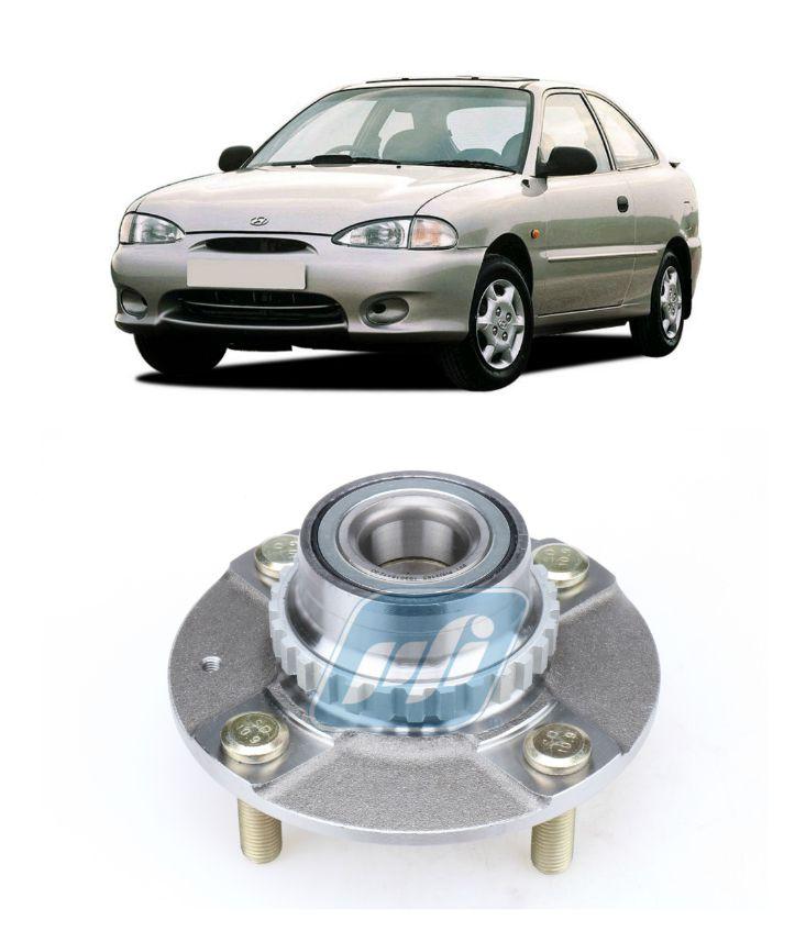 Cubo de Roda Traseira HYUNDAI Accent 1995-1999